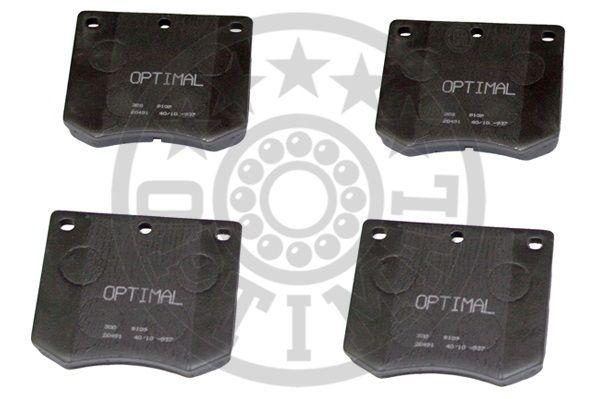 Kit de plaquettes de frein, frein à disque - OPTIMAL - 9109