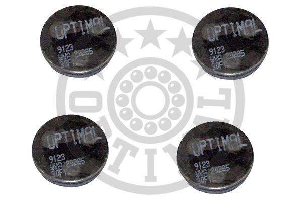 Kit de plaquettes de frein, frein à disque - OPTIMAL - 9123