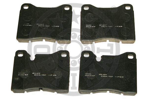 Kit de plaquettes de frein, frein à disque - OPTIMAL - 9127
