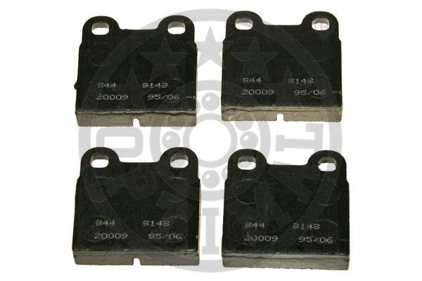 Kit de plaquettes de frein, frein à disque - OPTIMAL - 9149