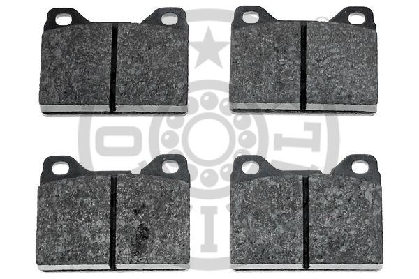 Kit de plaquettes de frein, frein à disque - OPTIMAL - 9152