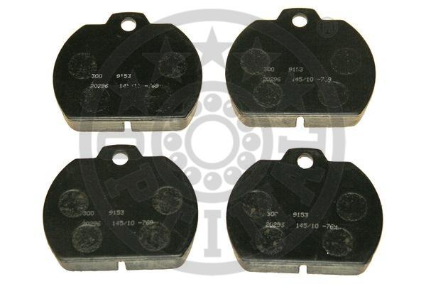 Kit de plaquettes de frein, frein à disque - OPTIMAL - 9153