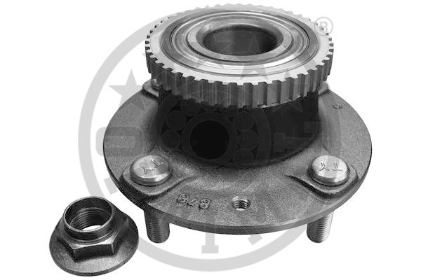 Jeu de roulements de roue - OPTIMAL - 922181