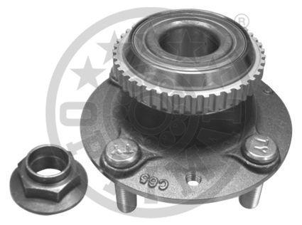 Jeu de roulements de roue - OPTIMAL - 922789