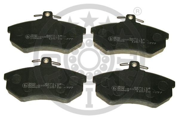 Kit de plaquettes de frein, frein à disque - OPTIMAL - 9271/16