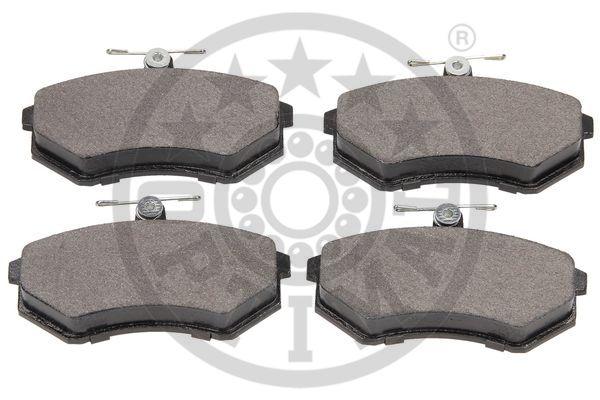 Kit de plaquettes de frein, frein à disque - OPTIMAL - 9271