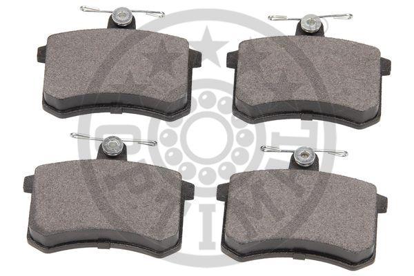 Kit de plaquettes de frein, frein à disque - OPTIMAL - 9272