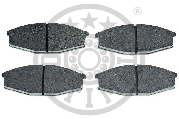 Kit de plaquettes de frein, frein à disque - OPTIMAL - 9294
