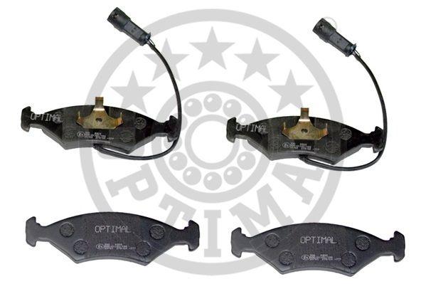 Kit de plaquettes de frein, frein à disque - OPTIMAL - 9303