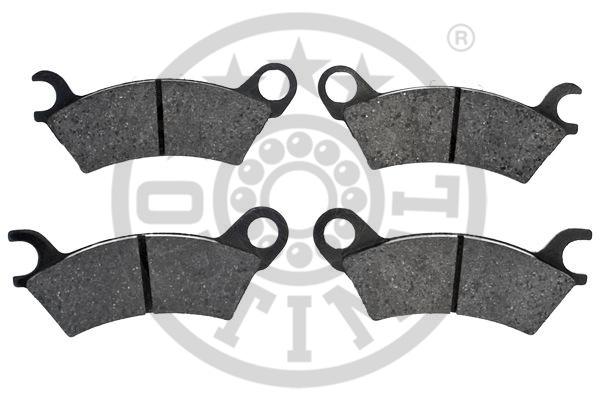 Kit de plaquettes de frein, frein à disque - OPTIMAL - 9325