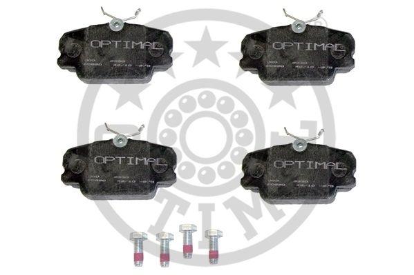 Kit de plaquettes de frein, frein à disque - OPTIMAL - 9330