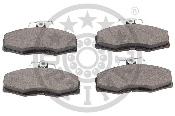 Kit de plaquettes de frein, frein à disque - OPTIMAL - 9337