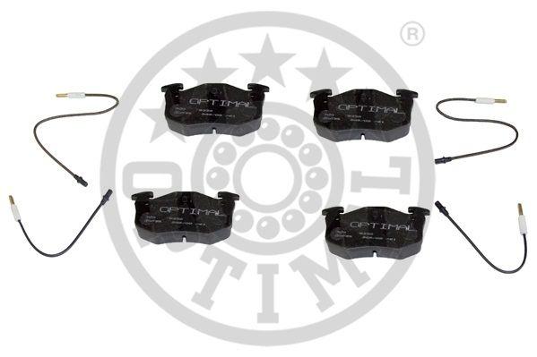 Kit de plaquettes de frein, frein à disque - OPTIMAL - 9339