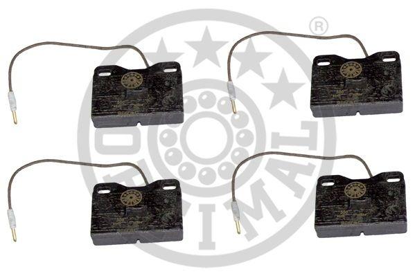 Kit de plaquettes de frein, frein à disque - OPTIMAL - 9340