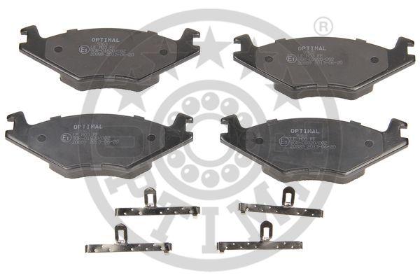 Kit de plaquettes de frein, frein à disque - OPTIMAL - 9363