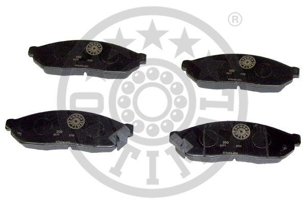 Kit de plaquettes de frein, frein à disque - OPTIMAL - 9377