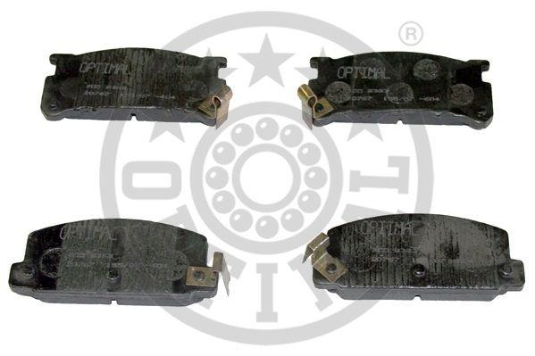 Kit de plaquettes de frein, frein à disque - OPTIMAL - 9393