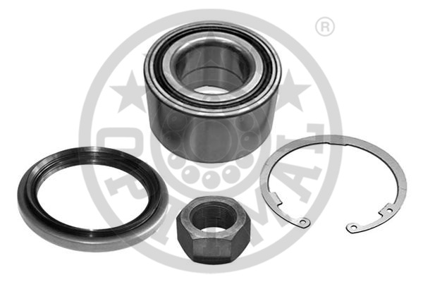Jeu de roulements de roue - OPTIMAL - 941784