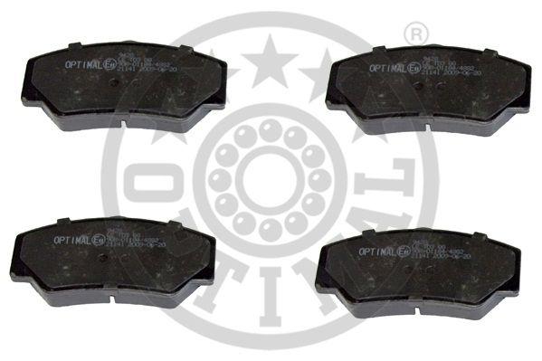 Kit de plaquettes de frein, frein à disque - OPTIMAL - 9428