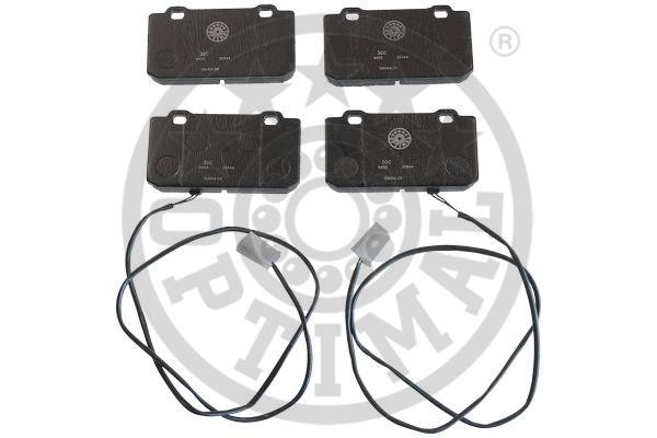 Kit de plaquettes de frein, frein à disque - OPTIMAL - 9435