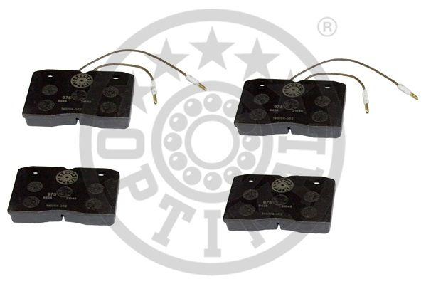 Kit de plaquettes de frein, frein à disque - OPTIMAL - 9436