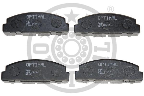 Kit de plaquettes de frein, frein à disque - OPTIMAL - 9441