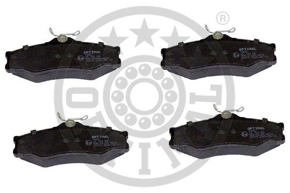 Kit de plaquettes de frein, frein à disque - OPTIMAL - 9450