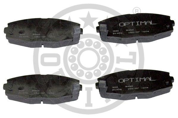 Kit de plaquettes de frein, frein à disque - OPTIMAL - 9452