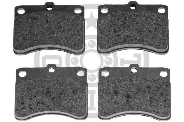 Kit de plaquettes de frein, frein à disque - OPTIMAL - 9461