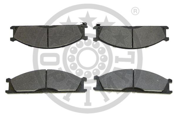Kit de plaquettes de frein, frein à disque - OPTIMAL - 9469