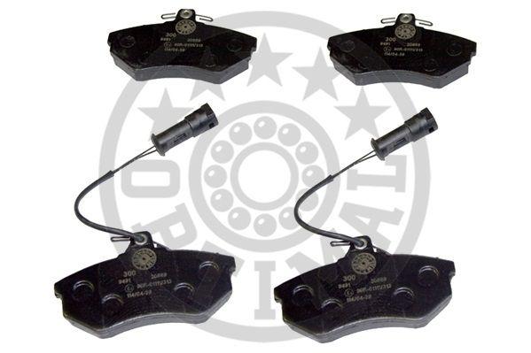 Kit de plaquettes de frein, frein à disque - OPTIMAL - 9491