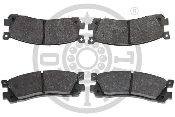 Kit de plaquettes de frein, frein à disque - OPTIMAL - 9494