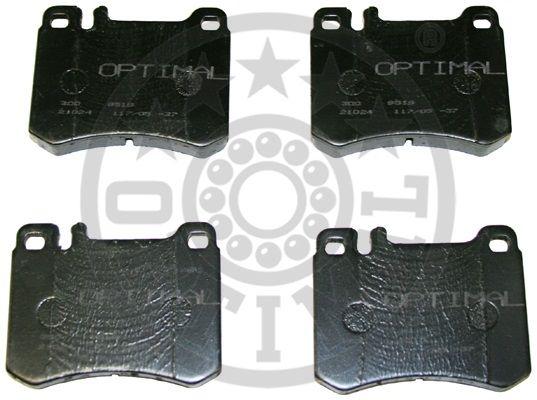 Kit de plaquettes de frein, frein à disque - OPTIMAL - 9519