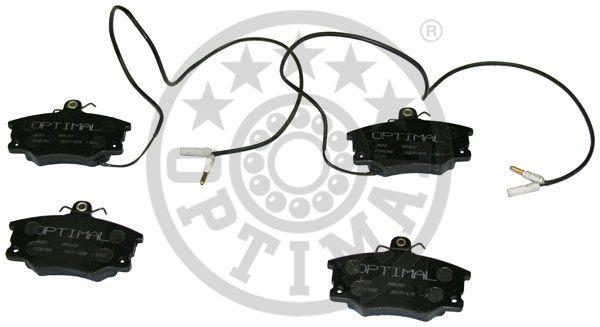 Kit de plaquettes de frein, frein à disque - OPTIMAL - 9520