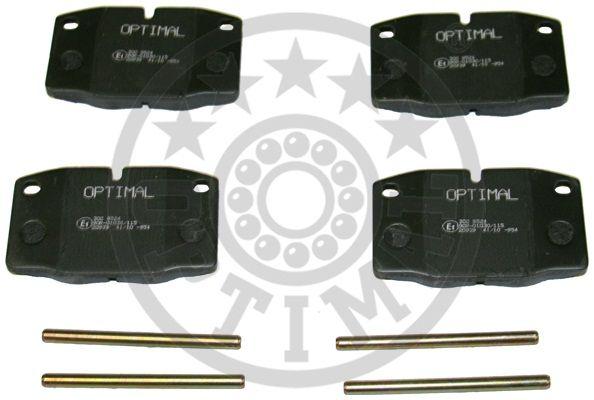 Kit de plaquettes de frein, frein à disque - OPTIMAL - 9524