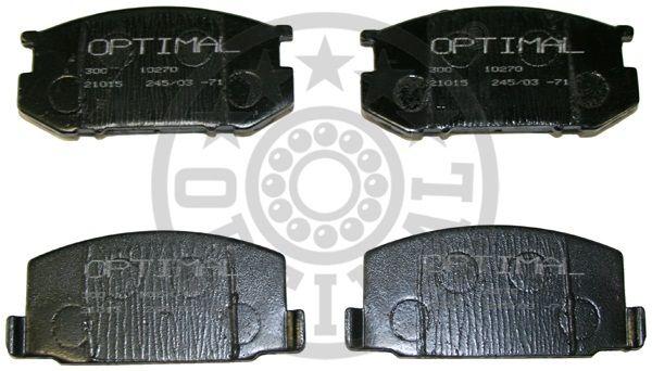 Kit de plaquettes de frein, frein à disque - OPTIMAL - 9531