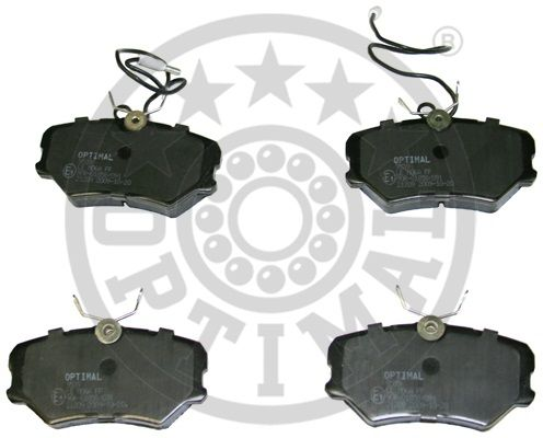 Kit de plaquettes de frein, frein à disque - OPTIMAL - 9539