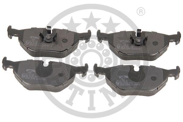 Kit de plaquettes de frein, frein à disque - OPTIMAL - 9544
