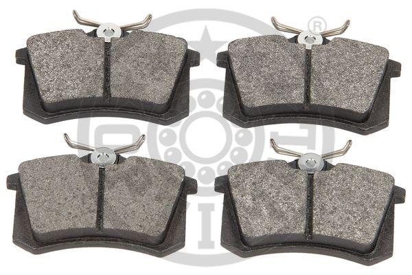 Kit de plaquettes de frein, frein à disque - OPTIMAL - 9548
