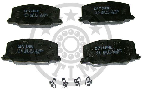 Kit de plaquettes de frein, frein à disque - OPTIMAL - 9549
