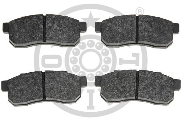 Kit de plaquettes de frein, frein à disque - OPTIMAL - 9567