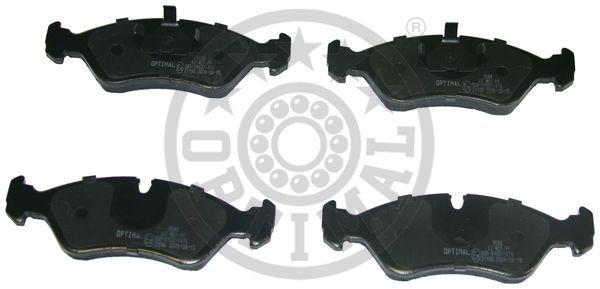 Kit de plaquettes de frein, frein à disque - OPTIMAL - 9588