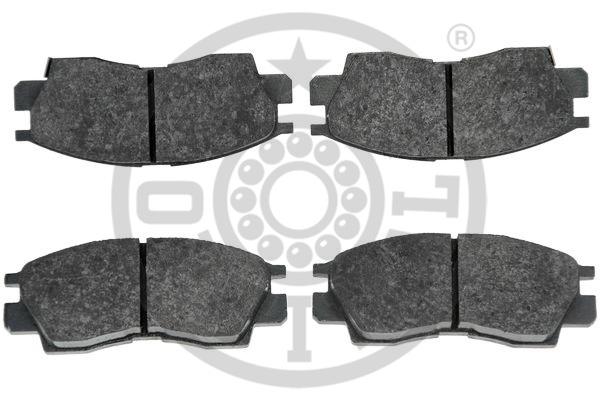 Kit de plaquettes de frein, frein à disque - OPTIMAL - 9593
