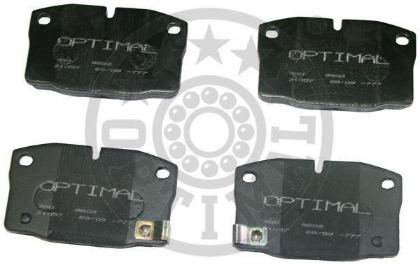 Kit de plaquettes de frein, frein à disque - OPTIMAL - 9602