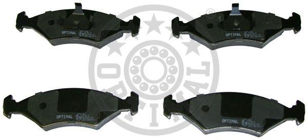 Kit de plaquettes de frein, frein à disque - OPTIMAL - 9606