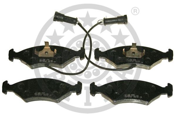 Kit de plaquettes de frein, frein à disque - OPTIMAL - 9608