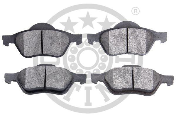Kit de plaquettes de frein, frein à disque - OPTIMAL - 96200