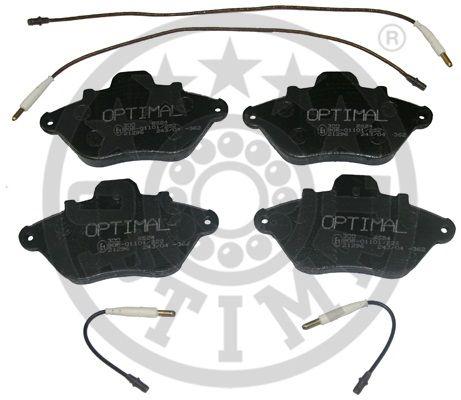 Kit de plaquettes de frein, frein à disque - OPTIMAL - 9624