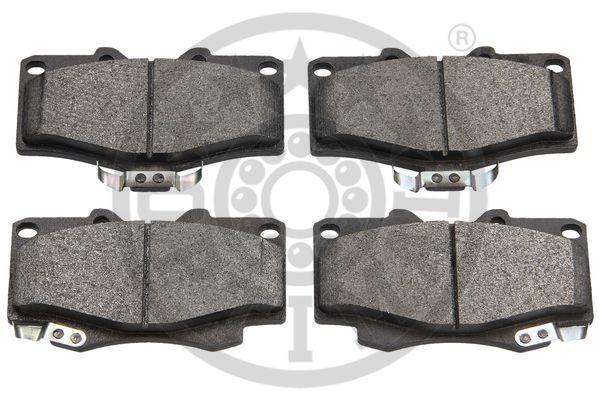 Kit de plaquettes de frein, frein à disque - OPTIMAL - 9632