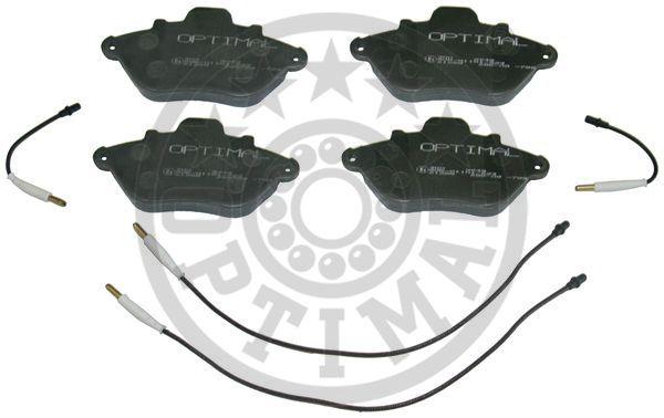 Kit de plaquettes de frein, frein à disque - OPTIMAL - 9648